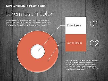 Data Driven Colored Business Presentation, Slide 12, 02437, Presentation Templates — PoweredTemplate.com