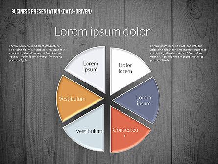Data Driven Colored Business Presentation, Slide 13, 02437, Presentation Templates — PoweredTemplate.com