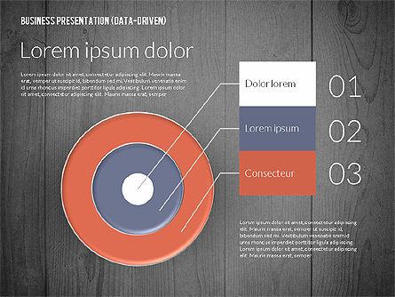 Data Driven Colored Business Presentation, Slide 15, 02437, Presentation Templates — PoweredTemplate.com