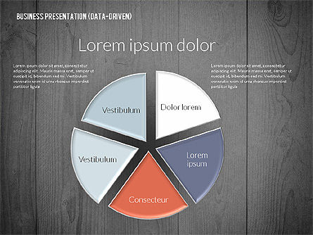 Data Driven Colored Business Presentation, Slide 16, 02437, Presentation Templates — PoweredTemplate.com