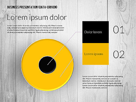 Data Driven Colored Business Presentation, Slide 4, 02437, Presentation Templates — PoweredTemplate.com