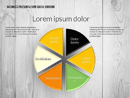 Data Driven Colored Business Presentation, Slide 5, 02437, Presentation Templates — PoweredTemplate.com