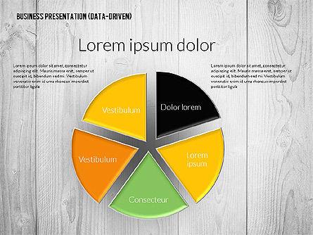 Data Driven Colored Business Presentation, Slide 8, 02437, Presentation Templates — PoweredTemplate.com