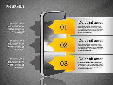 Infographics with Gadgets, Slide 11, 02442, Infographics — PoweredTemplate.com