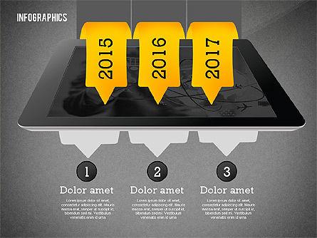 Infographics with Gadgets, Slide 16, 02442, Infographics — PoweredTemplate.com