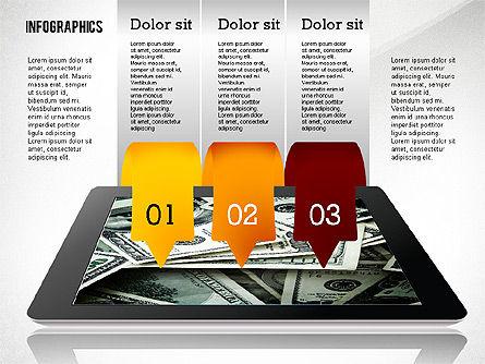 Infographics with Gadgets, Slide 5, 02442, Infographics — PoweredTemplate.com