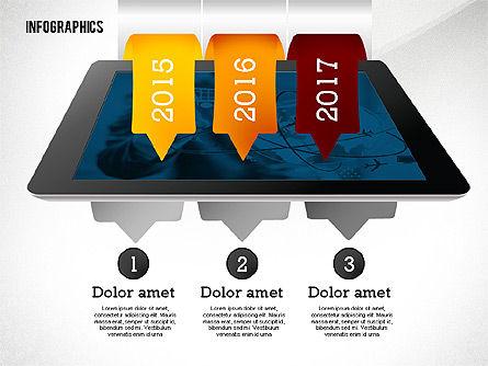 Infographics with Gadgets, Slide 8, 02442, Infographics — PoweredTemplate.com