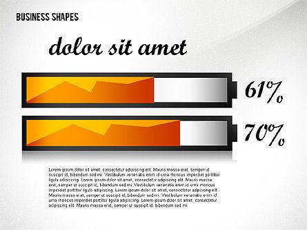 Geometrical Business Shapes, Slide 2, 02443, Shapes — PoweredTemplate.com