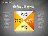 Geometrical Business Shapes#13