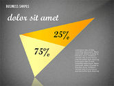 Geometrical Business Shapes#15