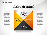 Geometrical Business Shapes#5