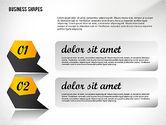 Geometrical Business Shapes#6