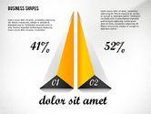 Geometrical Business Shapes#8