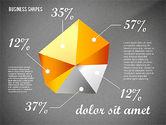 Geometrical Business Shapes#9