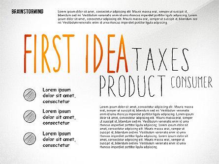 Brainstorming Shapes Slide 3