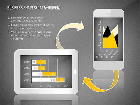 Data Driven Presentation with Gadgets, Slide 13, 02447, Data Driven Diagrams and Charts — PoweredTemplate.com