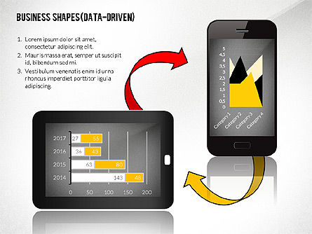 Data Driven Presentation with Gadgets, Slide 5, 02447, Data Driven Diagrams and Charts — PoweredTemplate.com