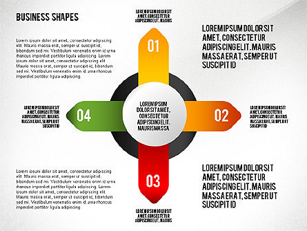 Process and Stages Toolbox, Slide 6, 02448, Process Diagrams — PoweredTemplate.com