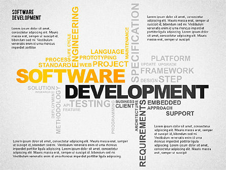 Presentation Templates: Software Development Presentation Template #02450