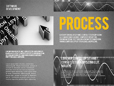 Software Development Presentation Template, Slide 10, 02450, Presentation Templates — PoweredTemplate.com