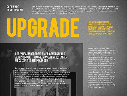 Software Development Presentation Template, Slide 14, 02450, Presentation Templates — PoweredTemplate.com