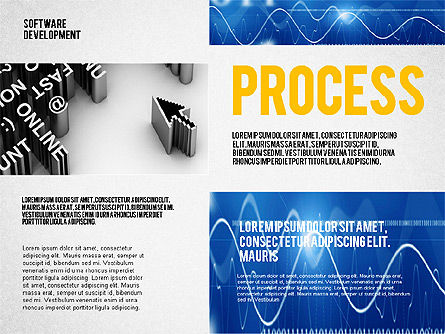 Software Development Presentation Template, Slide 2, 02450, Presentation Templates — PoweredTemplate.com