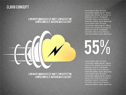 Cloud Services Presentation Template, Slide 11, 02453, Presentation Templates — PoweredTemplate.com