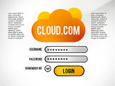 Presentation Templates: Cloud Services Presentation Template #02453