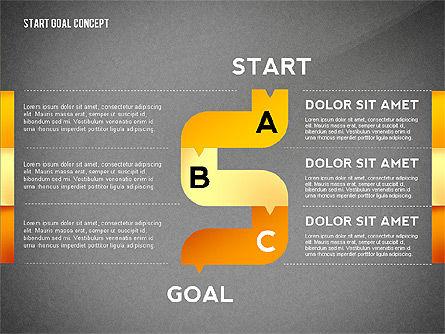 Set Start Reach Goal Toolbox, Slide 11, 02457, Stage Diagrams — PoweredTemplate.com