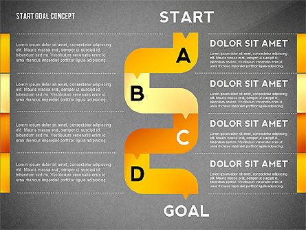 Set Start Reach Goal Toolbox, Slide 12, 02457, Stage Diagrams — PoweredTemplate.com