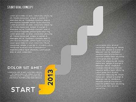 Set Start Reach Goal Toolbox, Slide 13, 02457, Stage Diagrams — PoweredTemplate.com