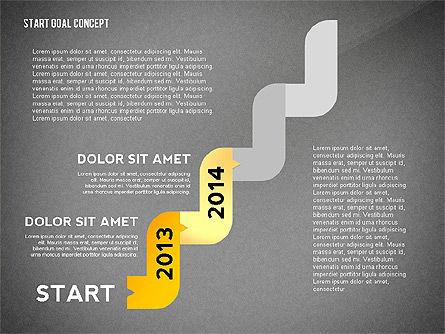 Set Start Reach Goal Toolbox, Slide 14, 02457, Stage Diagrams — PoweredTemplate.com