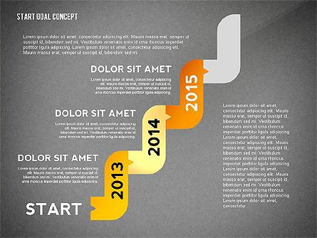 Set Start Reach Goal Toolbox, Slide 15, 02457, Stage Diagrams — PoweredTemplate.com