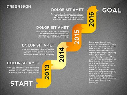 Set Start Reach Goal Toolbox, Slide 16, 02457, Stage Diagrams — PoweredTemplate.com