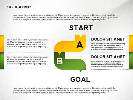 Set Start Reach Goal Toolbox, Slide 2, 02457, Stage Diagrams — PoweredTemplate.com