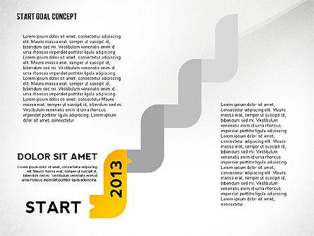 Set Start Reach Goal Toolbox, Slide 5, 02457, Stage Diagrams — PoweredTemplate.com