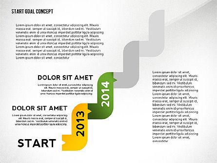 Set Start Reach Goal Toolbox, Slide 6, 02457, Stage Diagrams — PoweredTemplate.com