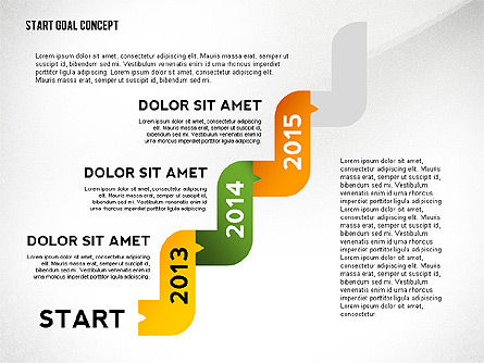 Set Start Reach Goal Toolbox, Slide 7, 02457, Stage Diagrams — PoweredTemplate.com