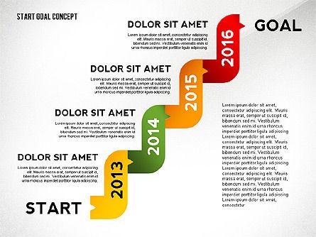 Set Start Reach Goal Toolbox, Slide 8, 02457, Stage Diagrams — PoweredTemplate.com