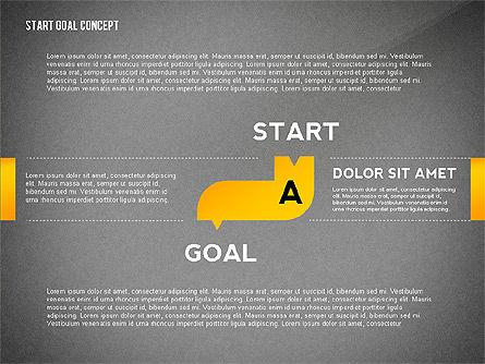 Set Start Reach Goal Toolbox, Slide 9, 02457, Stage Diagrams — PoweredTemplate.com