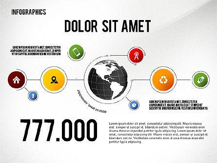 Infographics: 지구와의 인포 그래픽 #02458