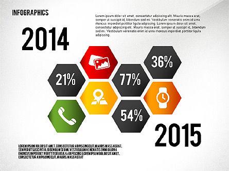 Infographics with Globe Slide 4
