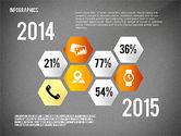 Infographics with Globe#12