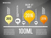 Infographics with Globe#13