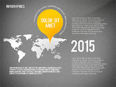 Infographics with Globe#14