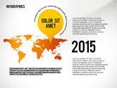 Infographics with Globe#6