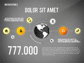 Infographics with Globe#9