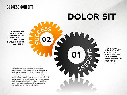 Success Concept, Slide 3, 02463, Presentation Templates — PoweredTemplate.com