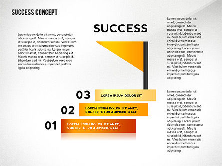 Success Concept, Slide 4, 02463, Presentation Templates — PoweredTemplate.com