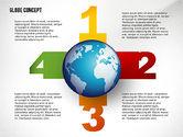 Presentation Templates: Globe Concept #02464